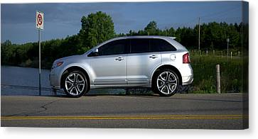 Ford Edge Sport Canvas Print by Rob Andrus