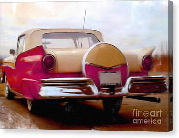 Ford Fairlane 500     Canvas Print by Liane Wright
