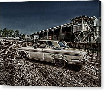 Ford Galaxie 500 4 Canvas Print by Thomas Young