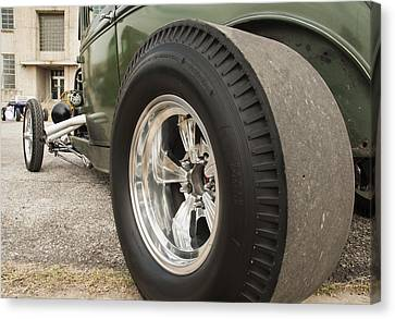 Ford Model A Hotrod Canvas Print by Todd Aaron