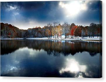 Foreboding Beauty Canvas Print by Rob Blair