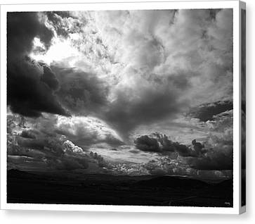 Foreboding Canvas Print by Glenn McCarthy Art and Photography