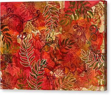 Forest Floor Canvas Print by Joann Loftus
