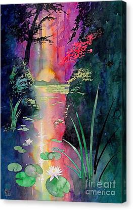 Forest Pond Canvas Print by Robert Hooper
