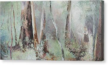 Forest Walk Canvas Print by Jan Matson