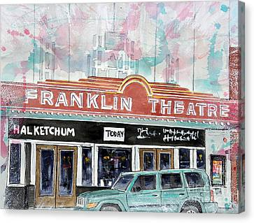 Forever Franklin Canvas Print by Tim Ross
