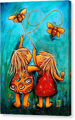 Forever Friends Canvas Print by Karin Taylor