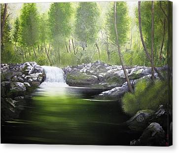 Forever Green Canvas Print by Kevin F Heuman