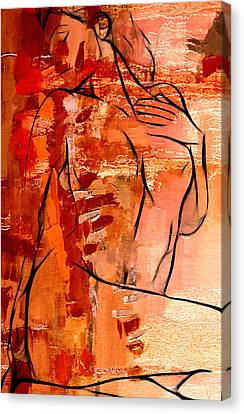Forever In Love Canvas Print by Stefan Kuhn