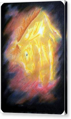 Forged In Fires Canvas Print by Mark Schutter