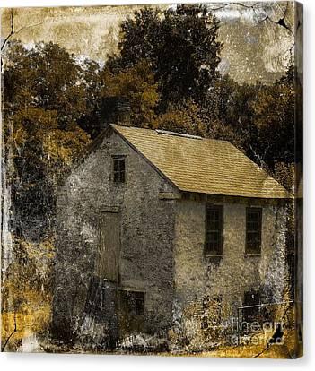 Forgotten Barn Canvas Print by Marcia L Jones