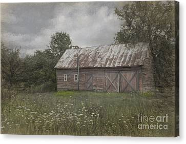 Forgotten By Time Canvas Print by Sandra Bronstein