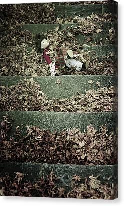 Forgotten Doll Canvas Print by Joana Kruse