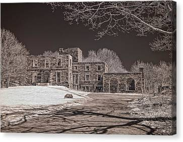 Forgotten Fort Williams Canvas Print by Joann Vitali