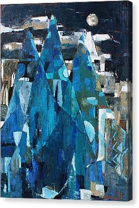 Forgotten Night Canvas Print by Becky Kim