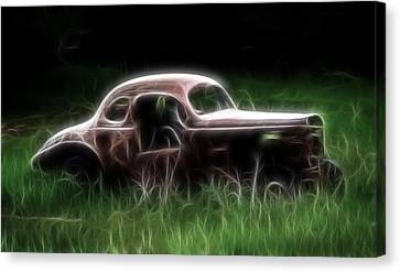 Forgotten Racer Canvas Print by Steve McKinzie