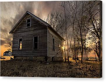 Forgotten V Canvas Print by Aaron J Groen