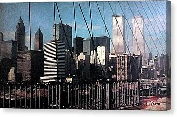 Forgotten View Canvas Print by George Pedro