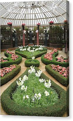 Formal Gardens Phipps Conservatory Canvas Print by Cyril Furlan