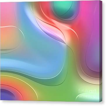 Formes Lascive - 5469 Canvas Print by Variance Collections