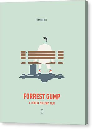 Forrest Gump Canvas Print by Smile In The Mind