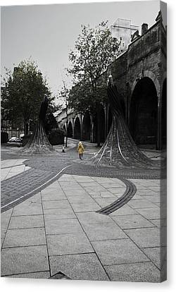 Forster Square Canvas Print by Riley Handforth