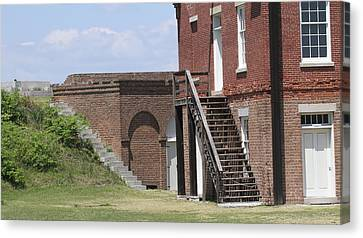 Fort Clinch 3 Canvas Print by Cathy Lindsey