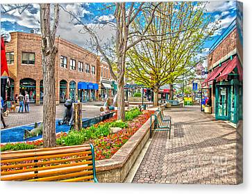 Fort Collins Canvas Print by Baywest Imaging
