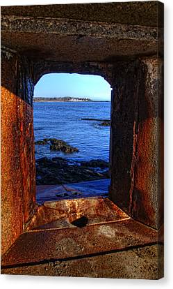 Fort Constitution Canvas Print by Joann Vitali