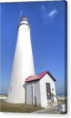 Fort Gratiot Lighthouse Canvas Print by Twenty Two North Photography