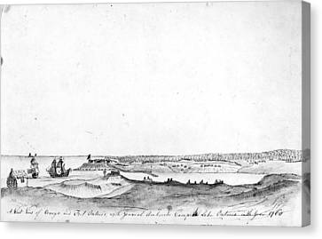 Fort Ontario, 1760 Canvas Print by Granger