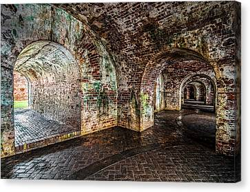 Fort Pike Canvas Print by Andy Crawford