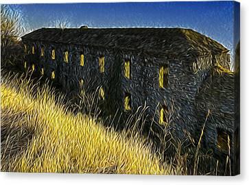 Forte Ratti 4741 - By Enrico Pelos Canvas Print by Enrico Pelos