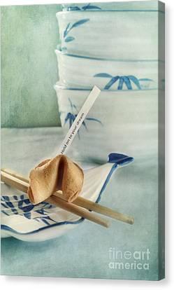 Fortune Cookie Canvas Print by Priska Wettstein