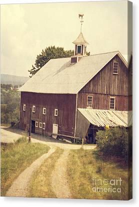 Four Corners Farm Vermont Canvas Print by Edward Fielding