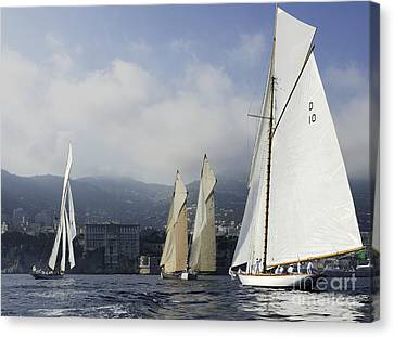 Four Fifteens - Monaco Canvas Print by Nigel Pert