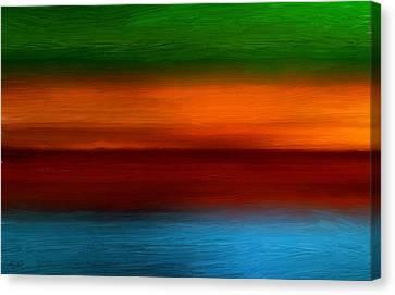Four Seasons Magic Canvas Print by Lourry Legarde