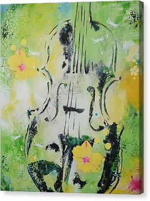 Four Seasons Spring Canvas Print by Bitten Kari