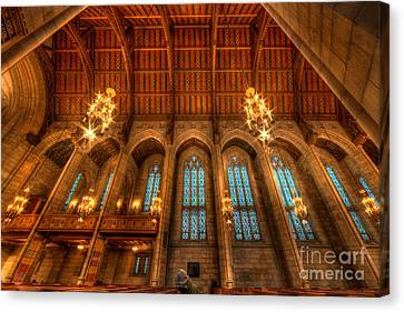 Fourth Presbyterian Church Chicago Canvas Print by Wayne Moran