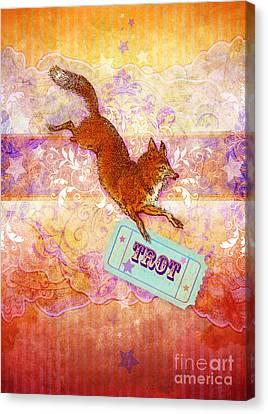 Foxtrot Canvas Print by Aimee Stewart