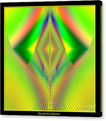 Fractal 32 Up Up And Away Canvas Print by Rose Santuci-Sofranko