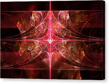 Fractal - Abstract - The Essecence Of Simplicity Canvas Print by Mike Savad