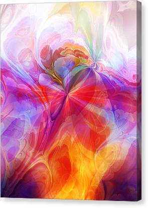 Fractal Desire Canvas Print by Lutz Baar