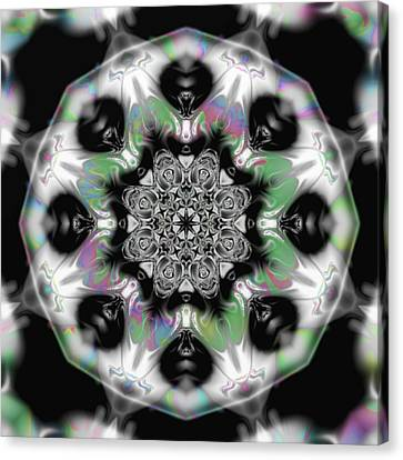 Fractal Kaleidoscope One  Canvas Print by Gina Lee Manley