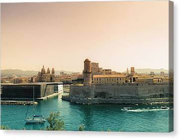 France - Marseille - Port Of Beauty Canvas Print by Vivienne Gucwa