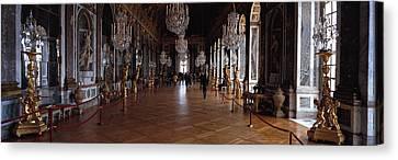 France, Paris, Versailles Canvas Print by Panoramic Images