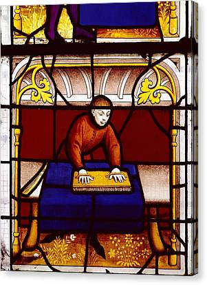France. Semur-en-auxois. Church Canvas Print by Everett