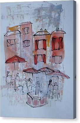 France Canvas Print by Sonja  Zeltner