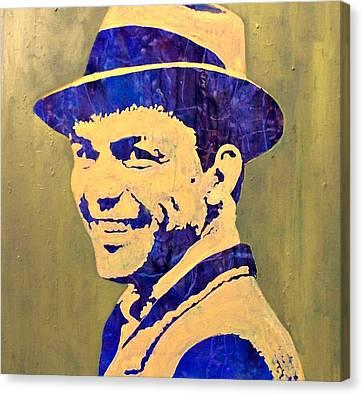 Frank Canvas Print by Pasquale Di maso