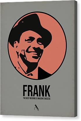 Frank Poster 1 Canvas Print by Naxart Studio